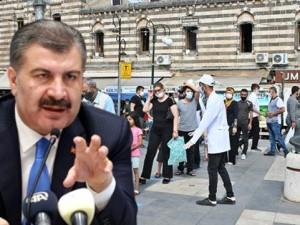 Koca, Diyarbakır'da dikkat çeken bir artış olduğunu söyledi