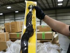 İnsan saçından imal edilen 13 ton ürün ele geçirildi
